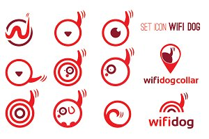 "Set icons of ""wifi dog"""