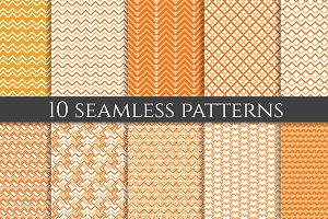 Orange patterns