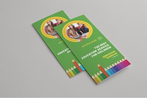Kids School Trifold Brochure
