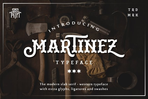 Slab Serif Fonts: Arterfak Project - Martinez