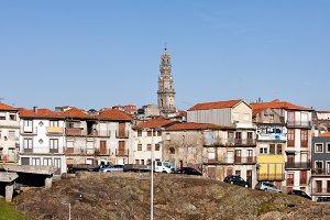 Porto City Skyline