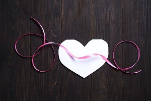 paper heart media love putting