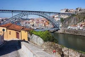 Cities of Porto and Gaia Cityscape
