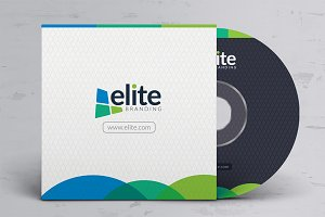CD/DVD Cover Design Template