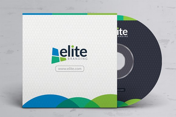 CD DVD Cover Design Template