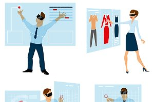 Touch Panels For Business People