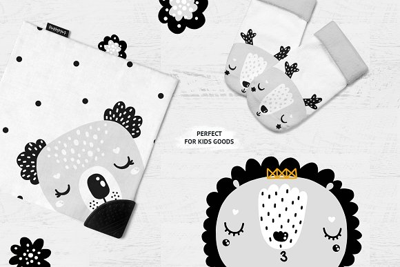 Scandinavian Animals - Nursery print in Illustrations - product preview 2