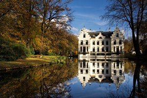 Castle Staverden in autumn