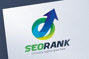 SEO Search Engine Logo Template