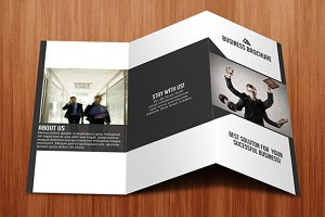 Tri- fold business brochure