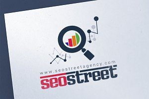 SEO & Marketing Agency Logo Template