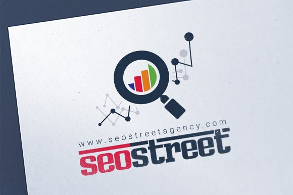SEO Marketing Agency Logo Template