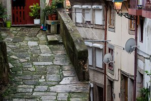 Old Town of Porto in Portugal