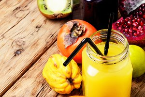 Fresh juices cocktail