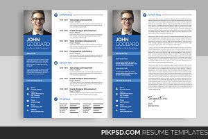3-Piece Resume/CV Set