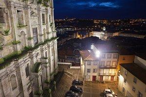 City of Porto by Night