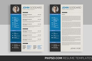 Ready 3-Piece Resume/CV Set