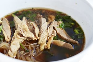 Chinese Roast Duck Noodle Soup Recip