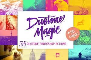 Duotone Magic- Photoshop actions