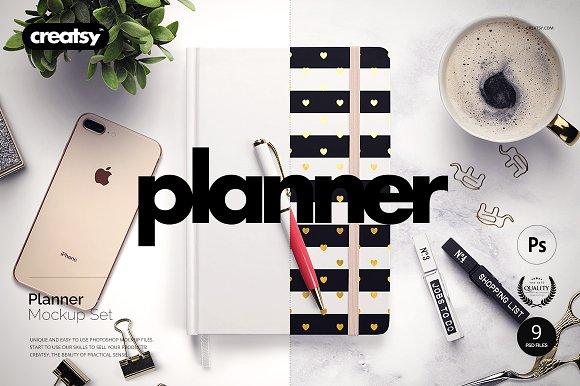 Planner Mockup Set