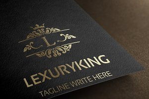 Lexury King (Letter L) Logo