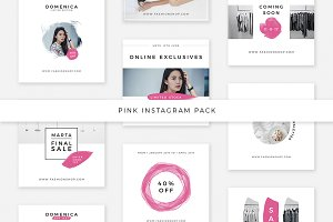 Pink Instagram Pack