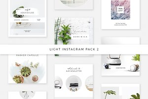 Light Instagram Pack 2