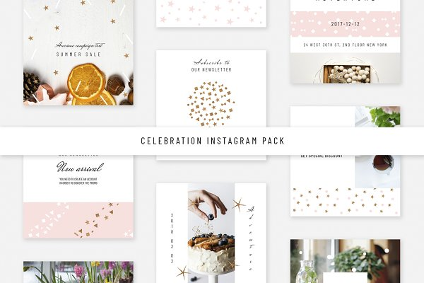 Celebration Instagram Pack