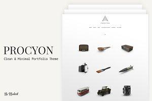 Procyon - Clean Portfolio Theme