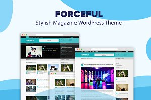 ForceFul- Stylish Magazine WordPress