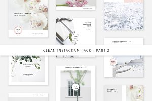 Clean Instagram Pack - Part 2