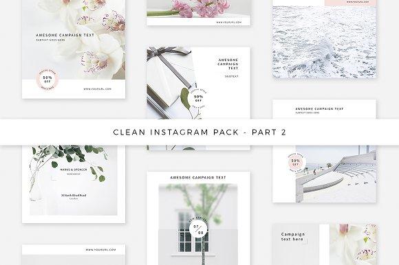 Clean Instagram Pack - Part 2