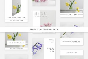 Simple Instagram Pack