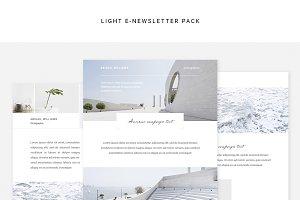 Light E-newsletter Pack