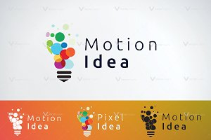 Motion Idea Logo Templates
