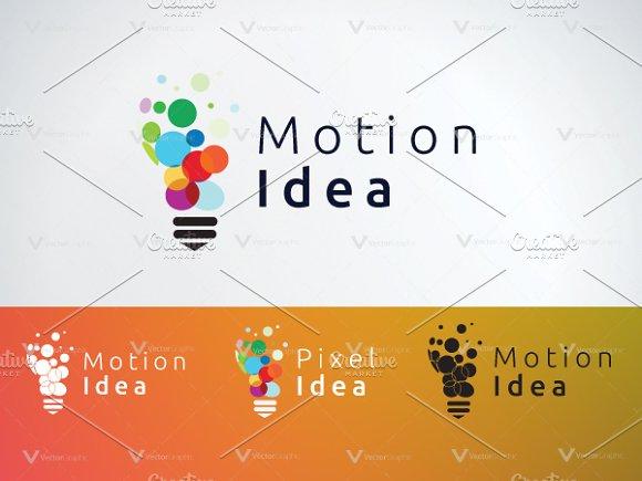 Motion idea logo templates logo templates creative market motion idea logo templates logos maxwellsz