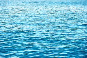 Blue sea water texture