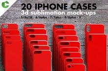 sticker case mockup