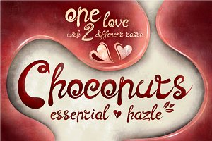 Choconuts Typeface