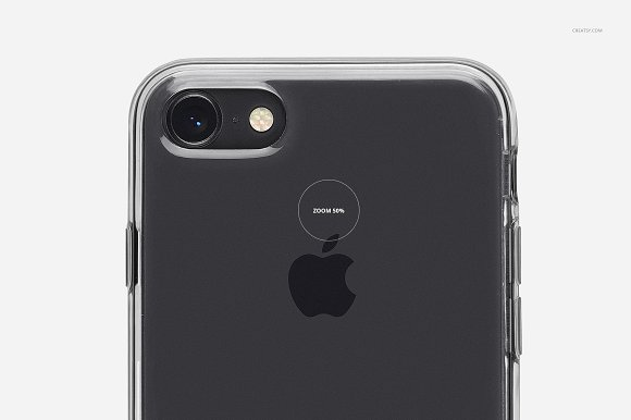 iPhone 8 Clear Case Mockup Set in Product Mockups - product preview 17