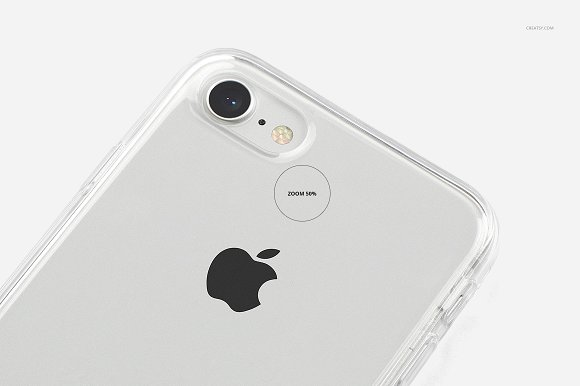 iPhone 8 Clear Case Mockup Set in Product Mockups - product preview 18