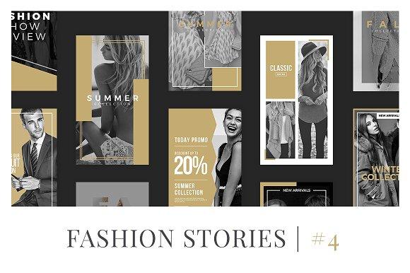 Fashion Instagram Stories V4