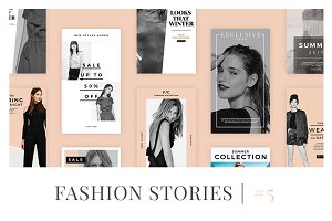 Fashion Instagram Stories V5