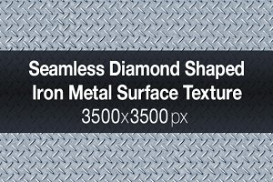 Seamless Diamond Metal Texture