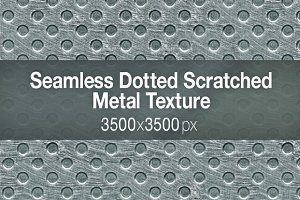 Seamless Dotted Metal Texture