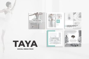Taya Social Media Pack