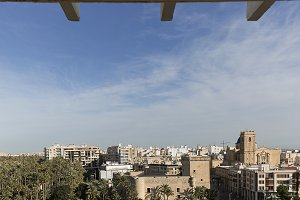 Views of the city of Elche