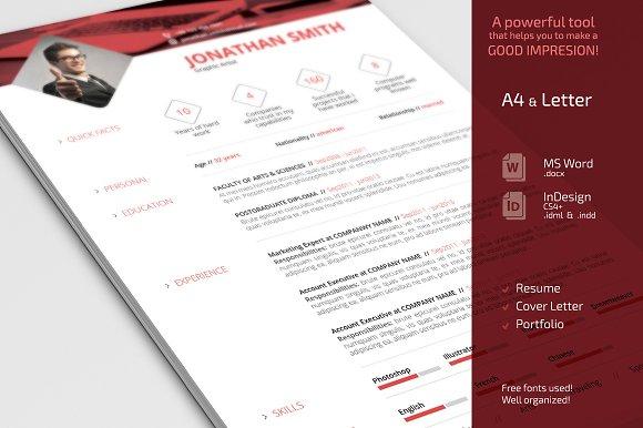 simple resume cv set resumes