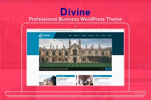 Divine Business WordPress Theme