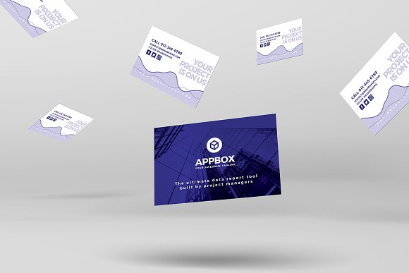 Mobile App Business Card Template Business Card Templates - Business card template app